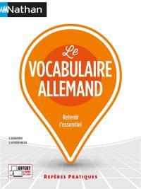 Le vocabulaire allemand