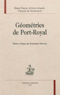 Géométries de Port-Royal
