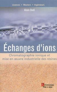 Echanges d'ions