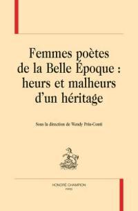 Femmes poètes de la Belle Epoque