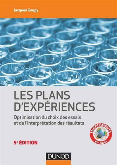 Les plans d'expériences