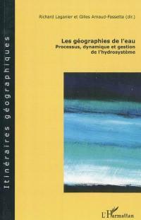 Les géographies de l'eau