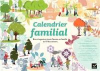 Calendrier familial septembre 2020-janvier 2022