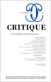 Critique. n° 858,