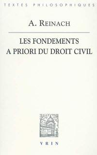 Les fondements a priori du droit civil