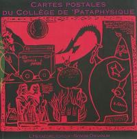 Cartes postales & papillons du Collège de pataphysique et du Cymbalum pataphysicum