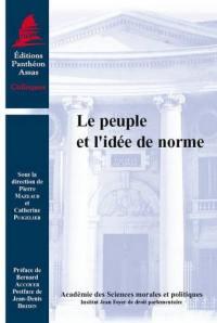 Le peuple et l'idée de norme