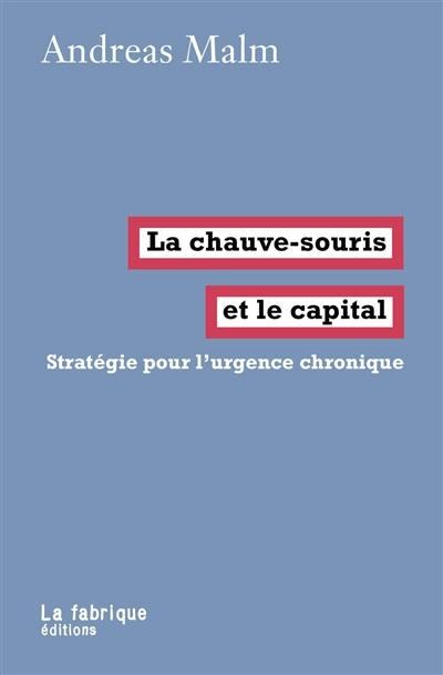 La chauve-souris et le capital : stratégie pour l'urgence chronique