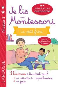 Je lis avec Montessori, niveau 2
