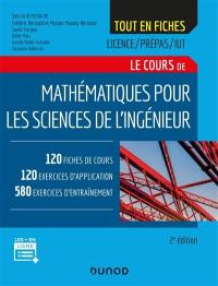 Le cours de mathématiques pour les sciences de l'ingénieur