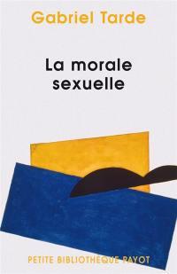 La morale sexuelle