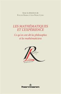 Les mathématiques et l'expérience