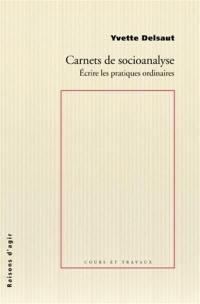 Carnets de socioanalyse