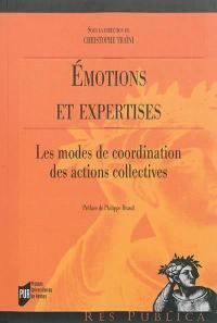 Emotions et expertises