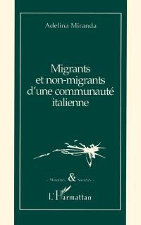 Migrants et non-migrants d'une commune italienne