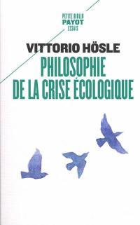 Philosophie de la crise écologique