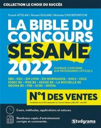 La bible du concours Sésame 2022