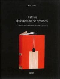 Histoire de la reliure de création