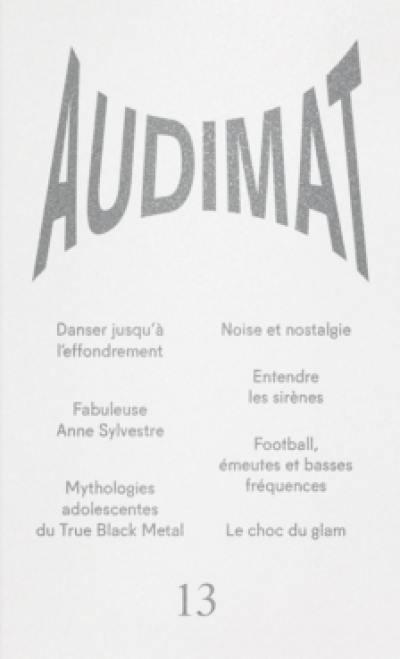 Audimat, n° 13
