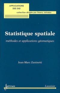 Statistique spatiale