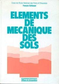 Eléments de mécanique des sols