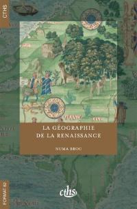 La géographie de la Renaissance