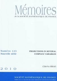 Mémoires de la Société mathématique de France. n° 123, Projections in several complex variables