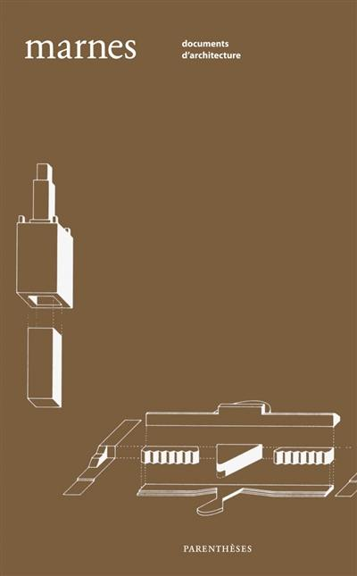 Marnes, documents d'architecture. n° 4,