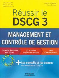 Réussir le DSCG 3