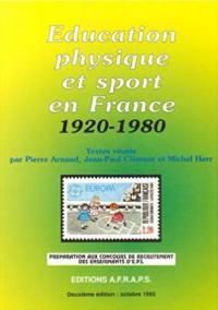 Education physique et sport en France, 1920-1980