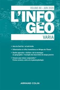 Information géographique (L'). n° 84-2,