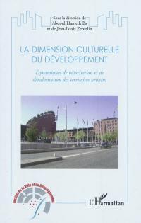 La dimension culturelle du développement