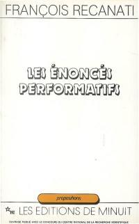 Les énoncés performatifs