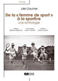 De la femme de sport à la sportive
