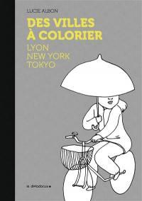 Des villes à colorier