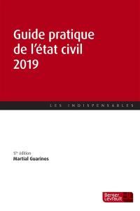 Guide pratique de l'état civil 2019