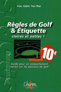Règles de golf & étiquette