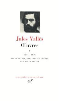 Oeuvres. Volume 1, 1857-1870
