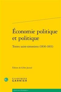 Economie politique et politique