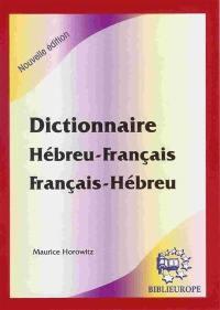 Dictionnaire hébreu-français, français-hébreu