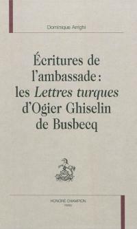 Ecritures de l'ambassade