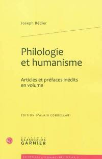 Philologie et humanisme