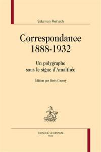 Correspondance 1888-1932