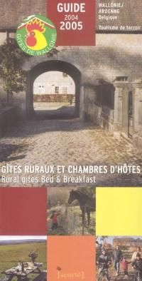 Gîtes ruraux et chambres d'hôtes, Wallonie-Ardenne (Belgique)