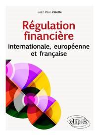 Régulation financière