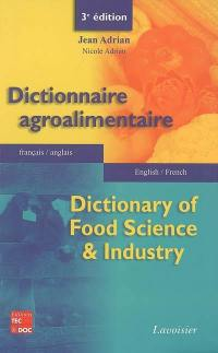 Dictionnaire agroalimentaire