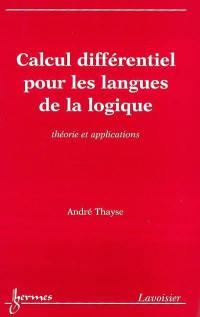 Calcul différentiel pour les langues de la logique