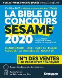 La bible du concours Sésame 2020
