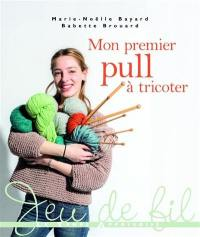 Mon premier pull à tricoter