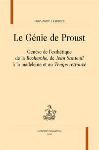 Le génie de Proust